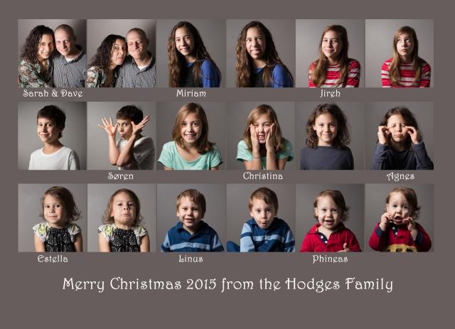 Christmas Card Back